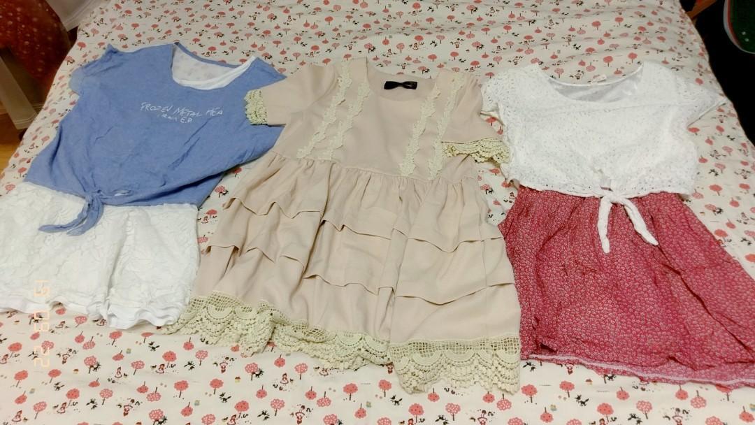 三件洋裝不拆賣