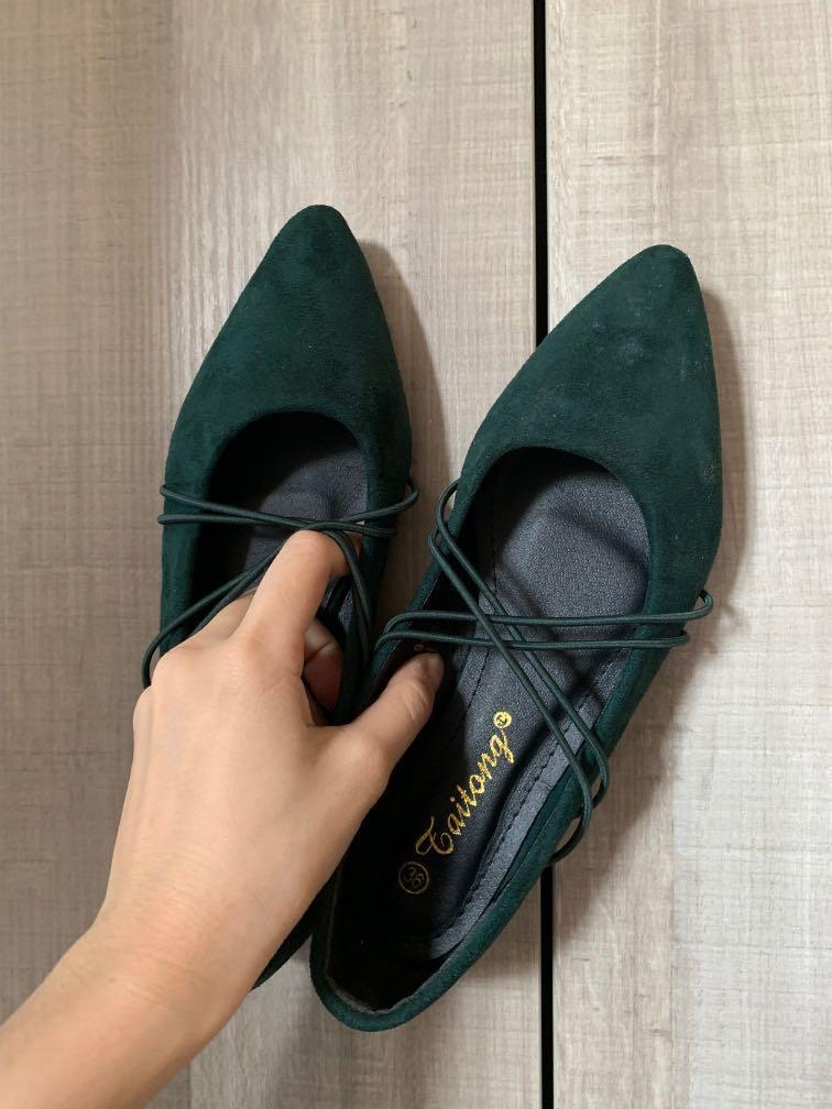 秋冬款駝色踝靴