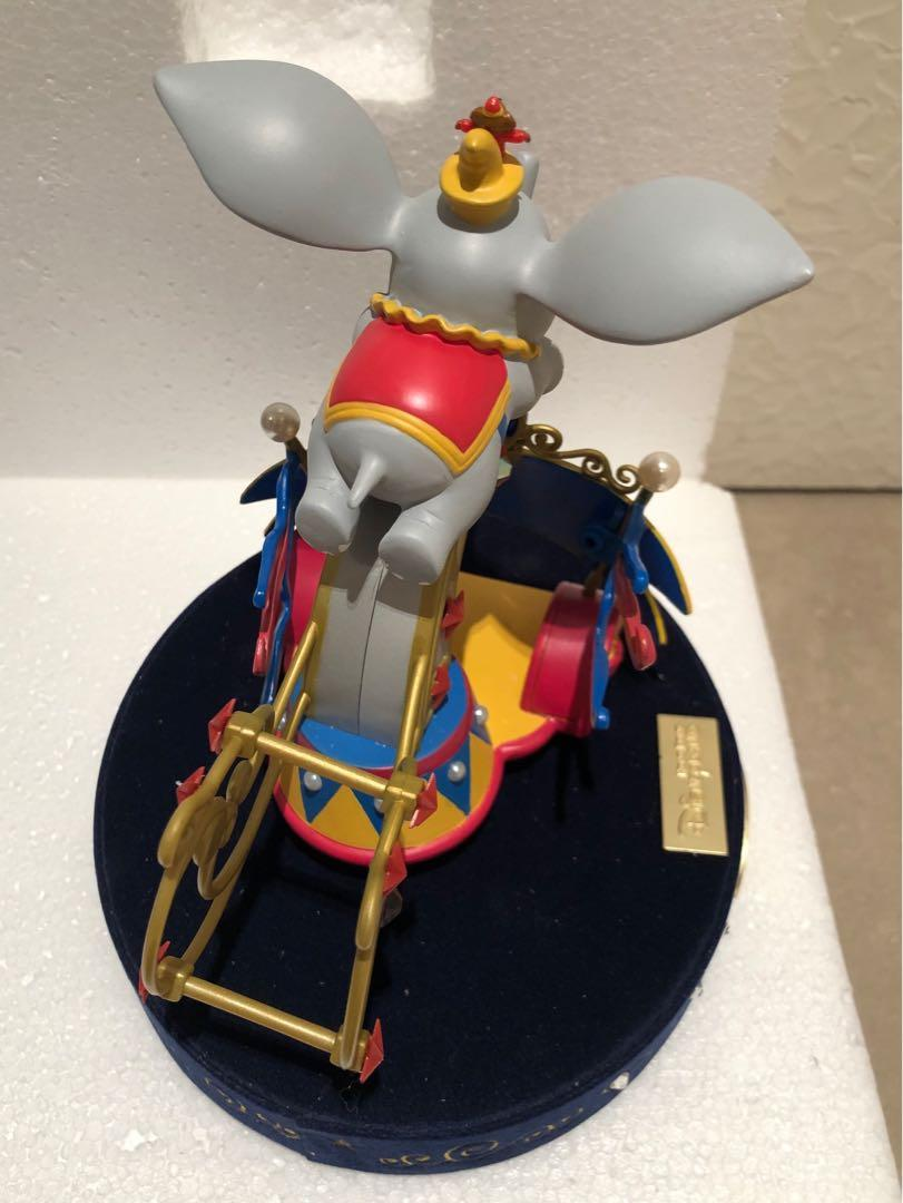 渣打銀行 香港迪士尼樂園5周年紀念 限量版 領航小飛象 迪士尼飛天巡遊 立體擺設 裝飾 精品 Standard Chartered Hong Kong Disneyland 5th anniversary Dreams Take Flight with Dumbo Flights of Fantasy