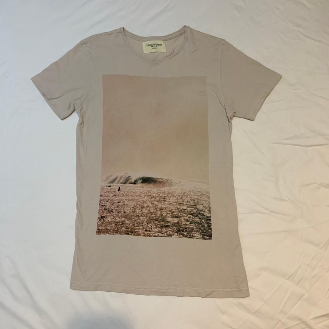 澳洲帶回 純棉上衣 豆沙色 cotton T-shirt Australia