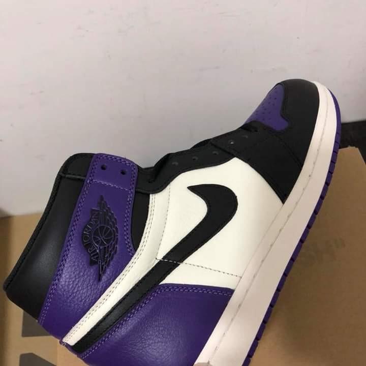 """Air Jordan 1 Retro High """"Court Purple."""""""