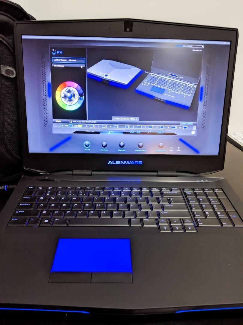 Alienware A17 i7 16GB - GTX 880M 8GB GDDR5