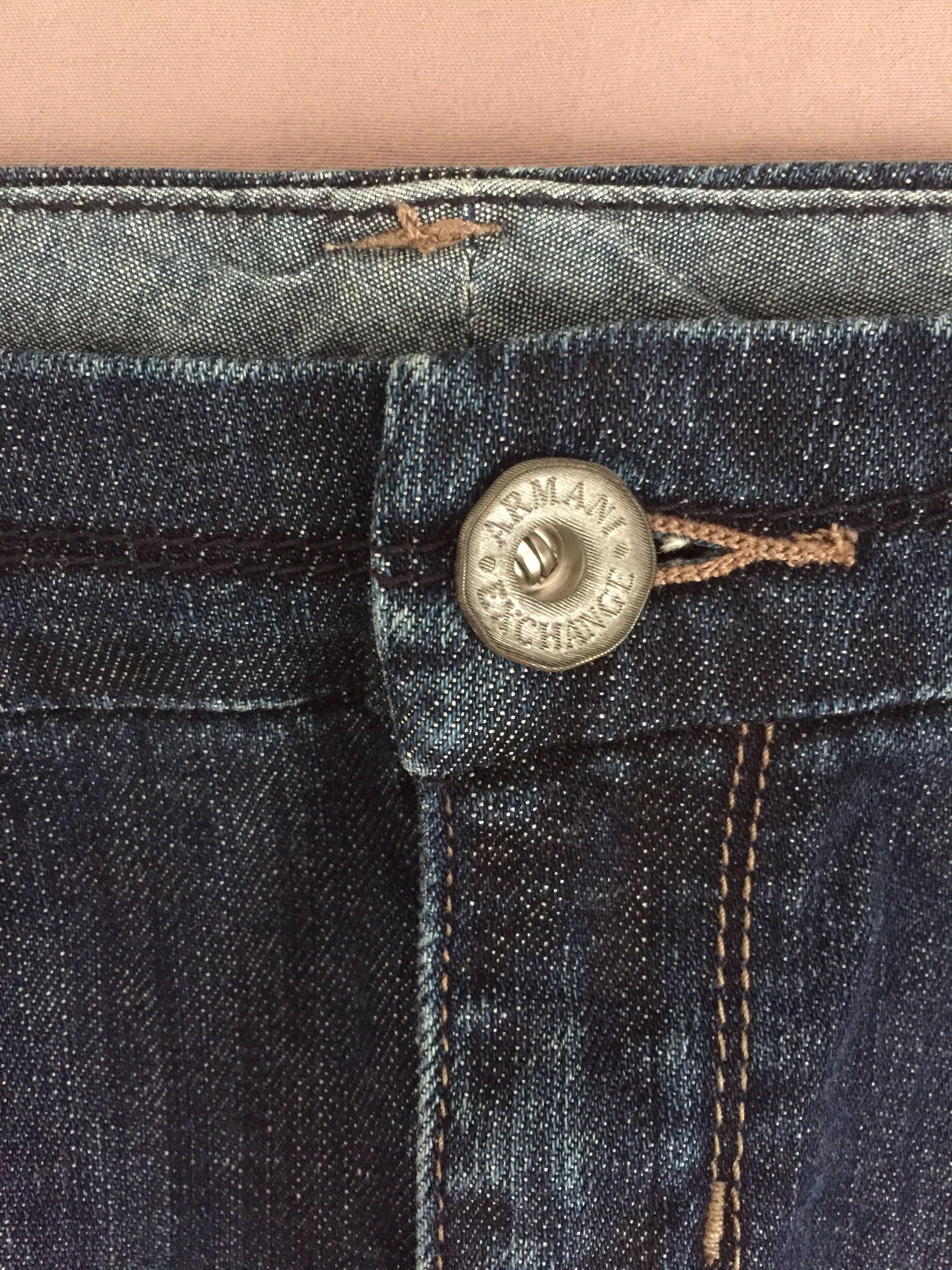 Armani Exchange Denim Skirt