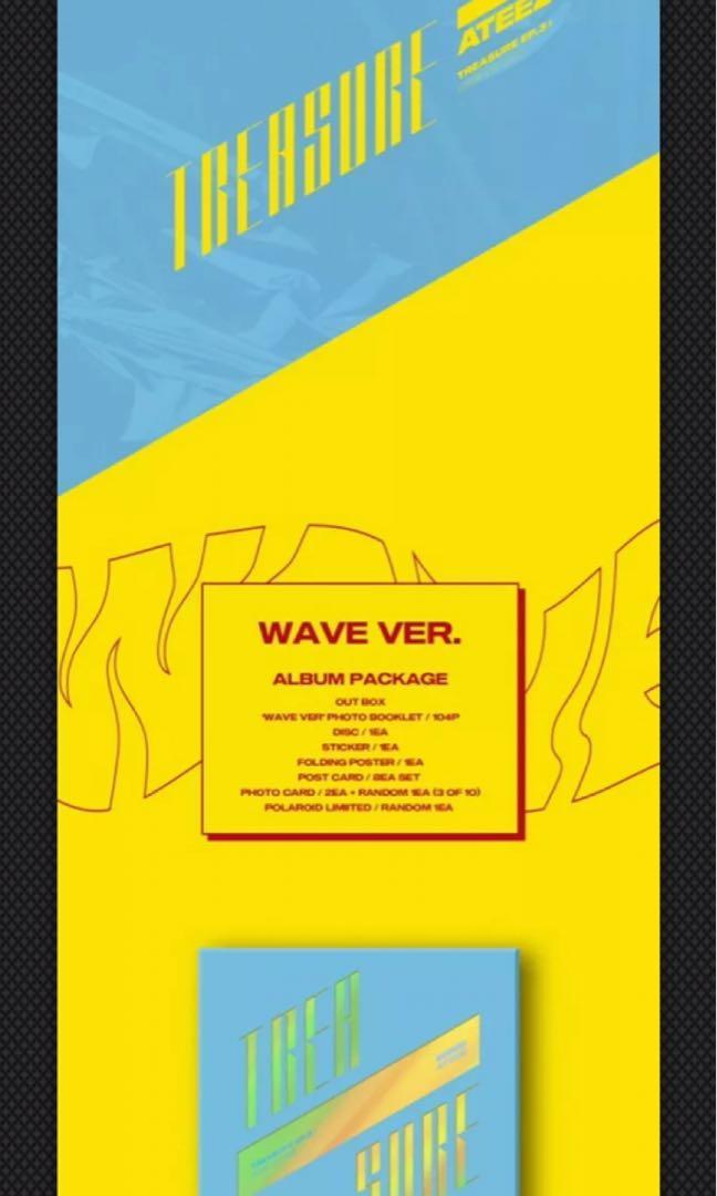 ATEEZ 에이티즈 - TREASURE EP.3 : ONE TO ALL (3rd Mini Album) Select Version!