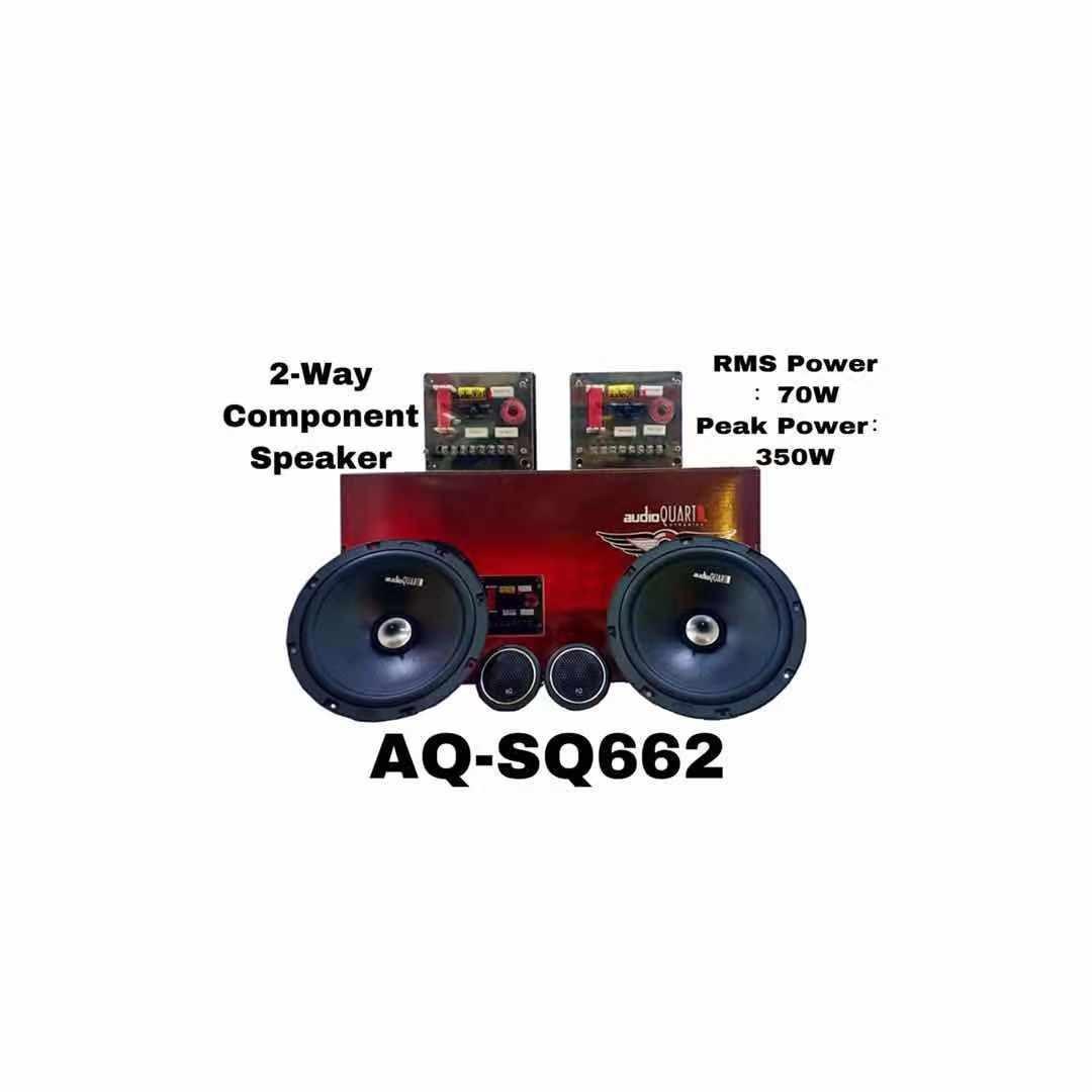 Audio quart component speaker