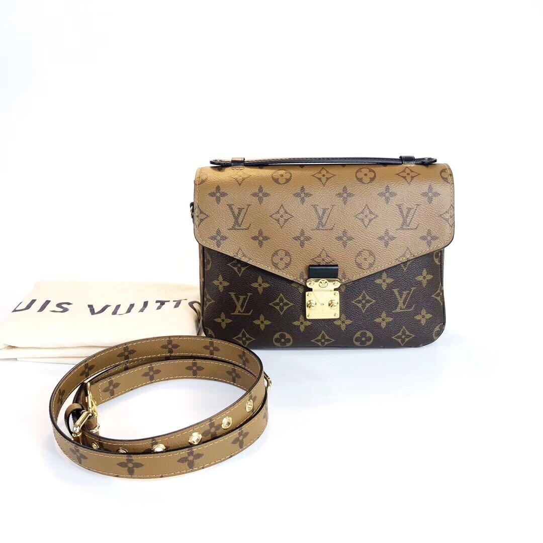 Authentic Brand New Louis Vuitton Pochette Métis Reverse Monogram