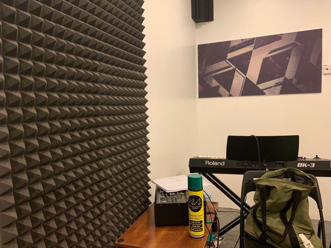BA Acoustic Soundproof Treatment Setup