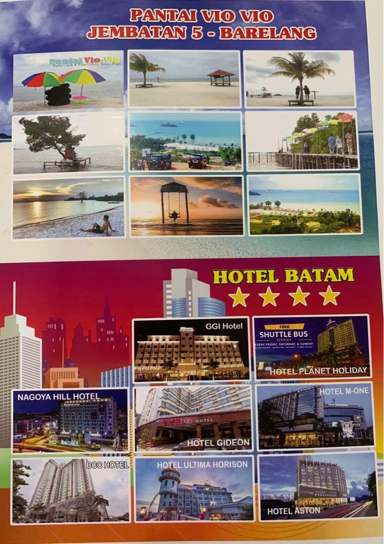 Batam 1 day car rental included experience private driver