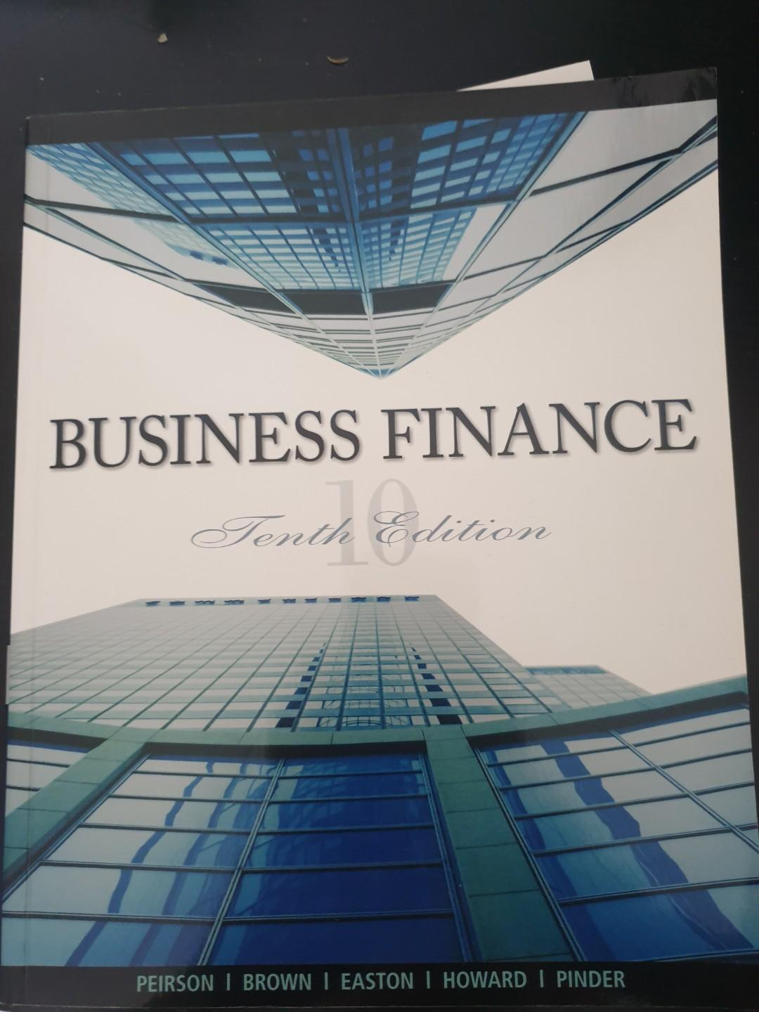 Business Finance, 10th edition