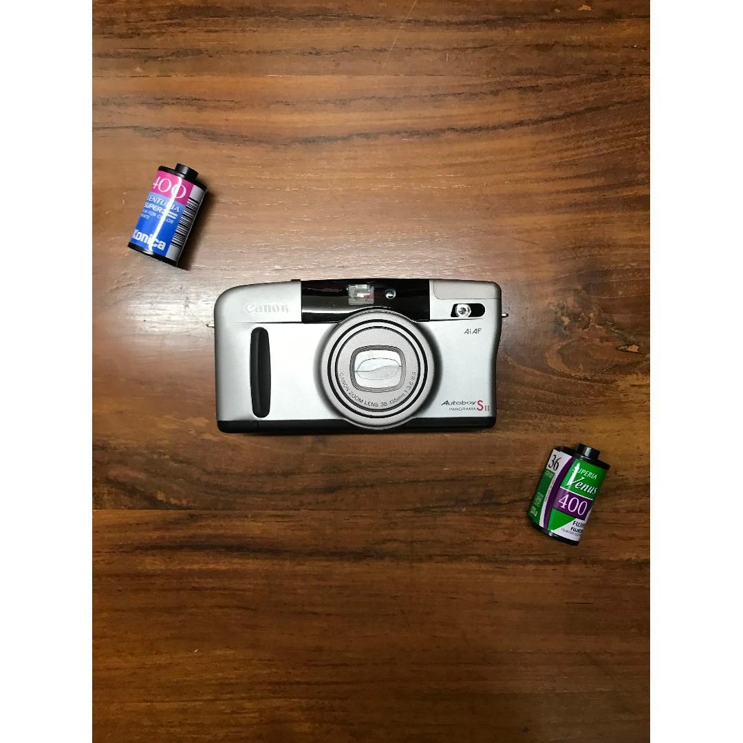 Canon Autoboy SII Film Compact