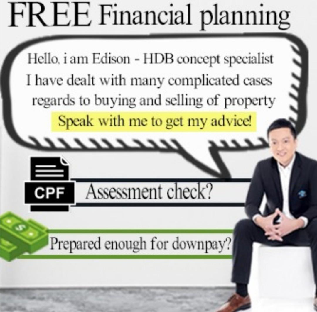 HDB Concept Specialist 🏡 And Financial Planning!
