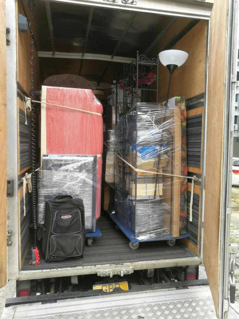 Cheapest moving services call 92385843 JohnsionMover