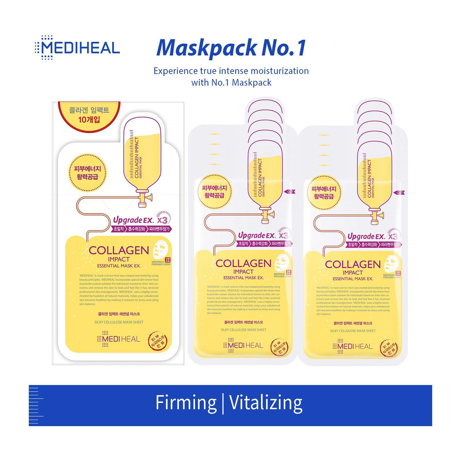 [Pre-order] Collagen Impact Essential Mask EX [10 sheets]