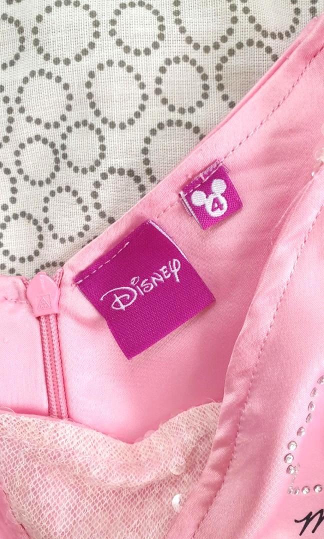 DISNEY pink dress with sequins