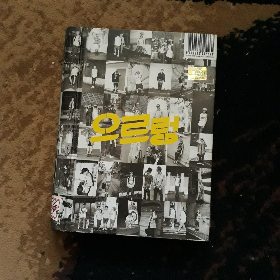 EXO Growl Album (without CD) with 3 Official Photocard (ORIGINAL)