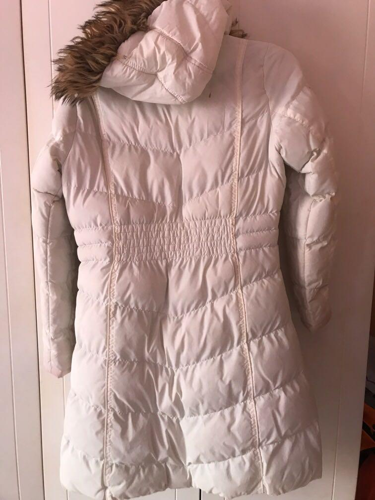 (FOR RENT) White Winter Jacket