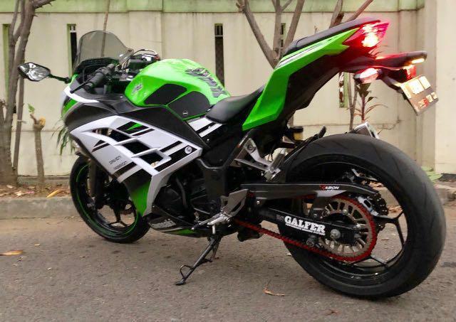 For Sale! Kawasaki Ninja 250fi ABS Special 30th Aniversary Edition 2015