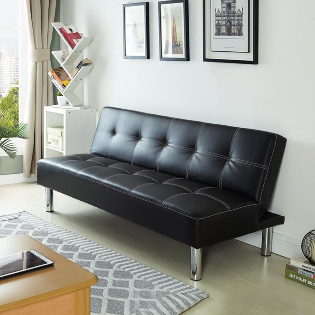 Free Delivery Living Room Sofa Black Sofa Bed B01 Furniture