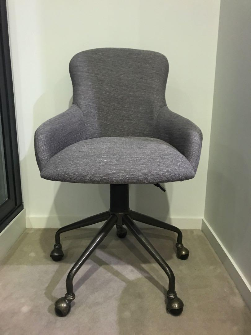 Freedom TESS Office Chair Aria, Pewter