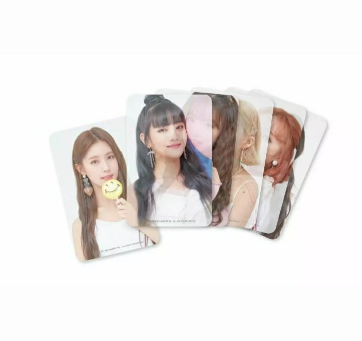 (G)I-DLE 1ST FANMEETING Welcome to the NEVERLANDOFFICIAL GOODS -CLEAR PHOTOCARD SET