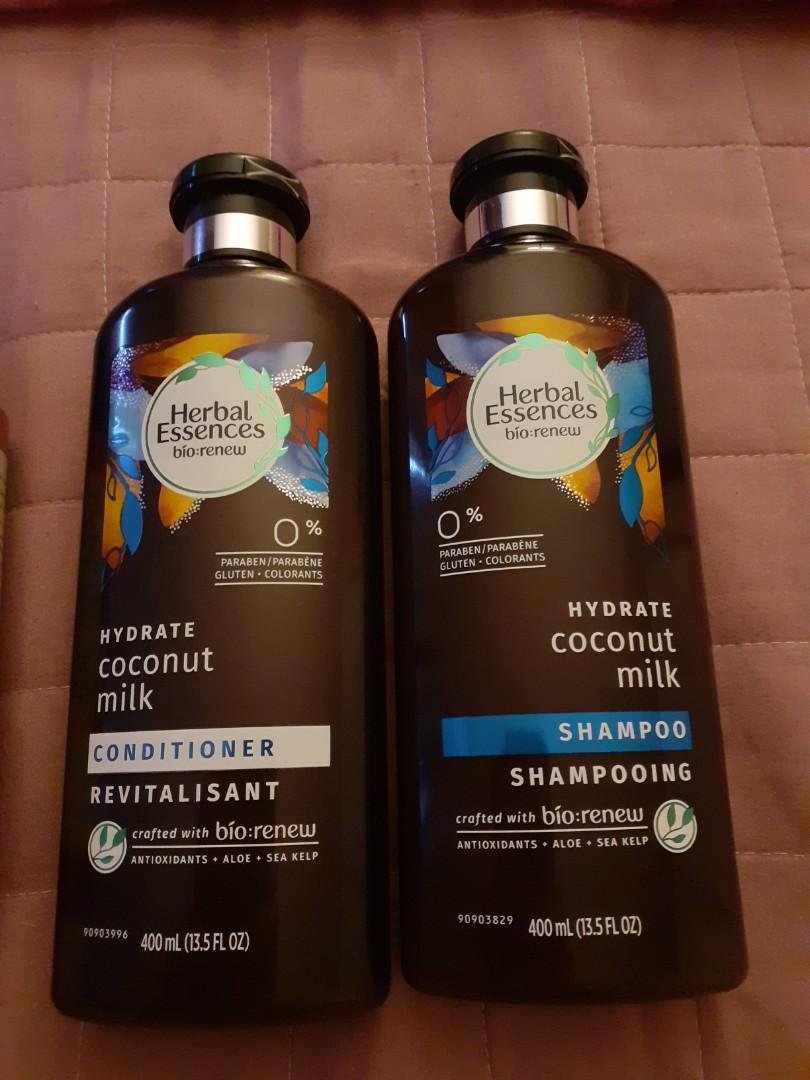 Hair Food/Herbal Essences Shampoo & Conditioner (4pieces)