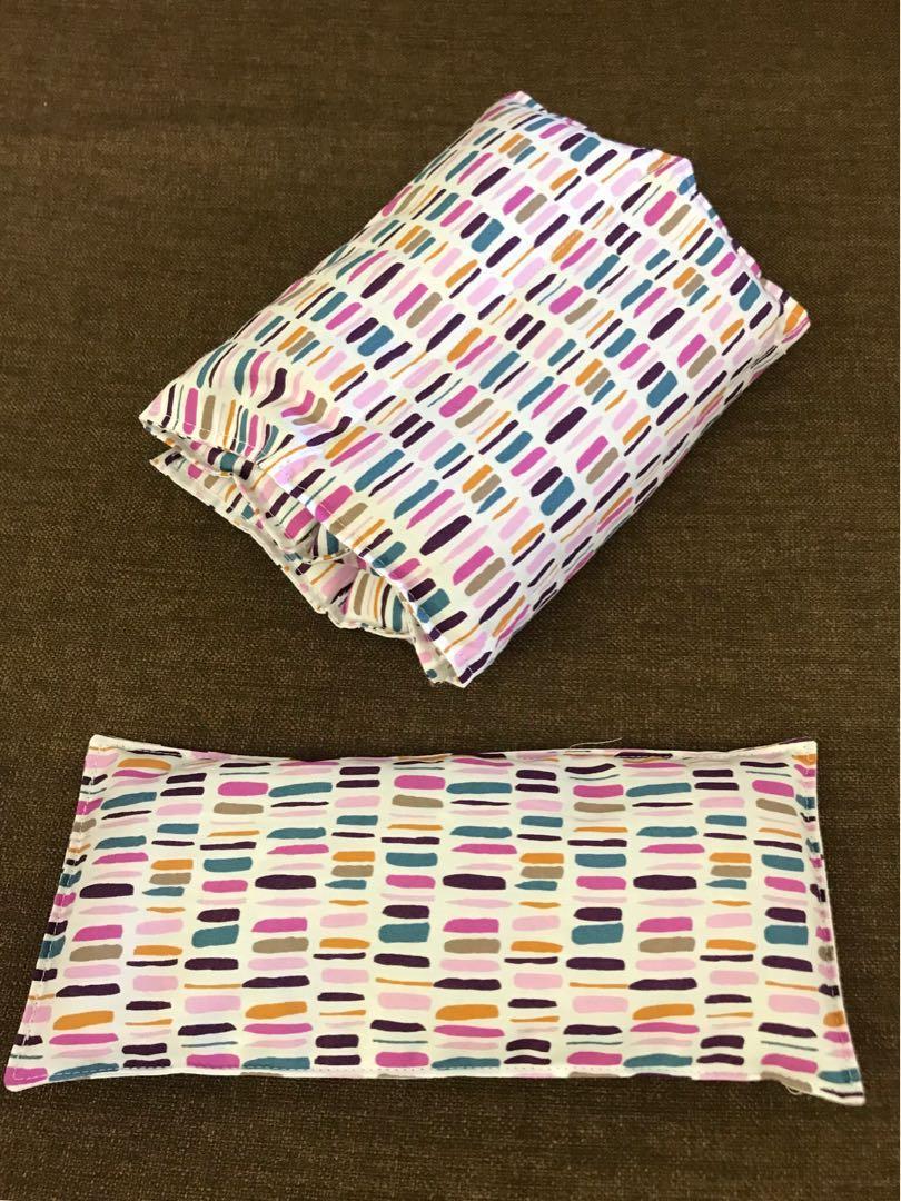 Handmade organic wheat packs/ heat or cool packs/ eye pillows
