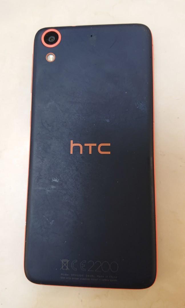 HTC DESIRE 628 5吋8核心摩登智慧機 (丹寧橘) 二手手機