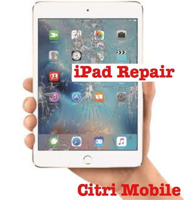 iPad Mini Air 1 2 3 4 Crack Glass LCD Display Screen Repair