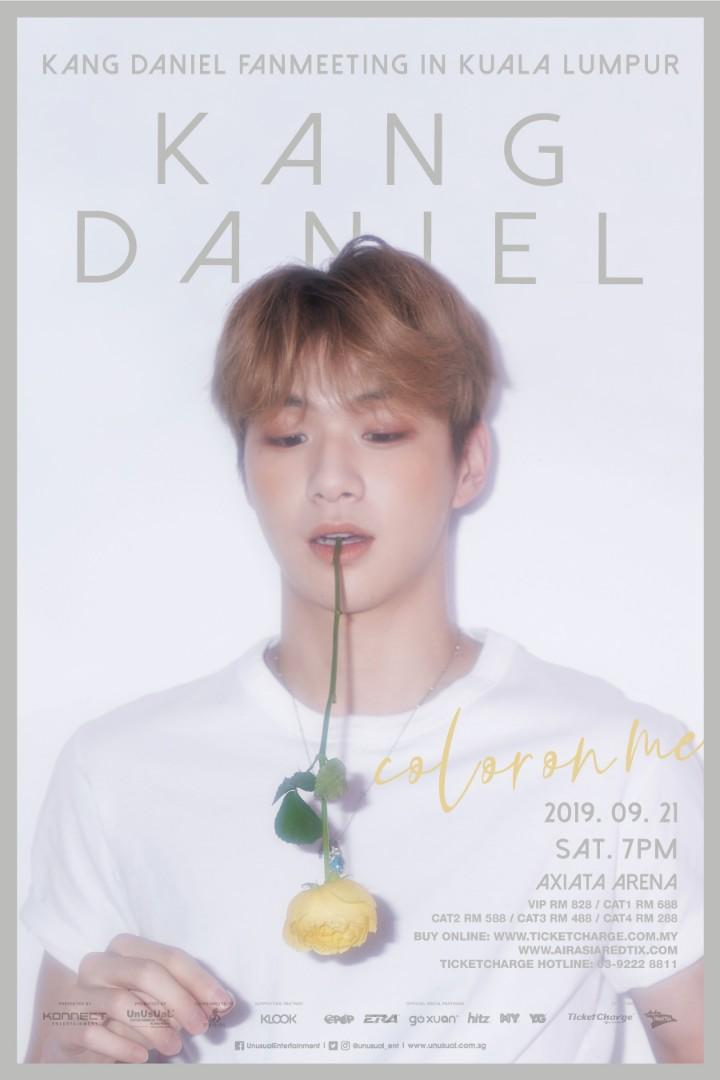 Kang Daniel Colour On Me Fanmeeting Poster Wanna One