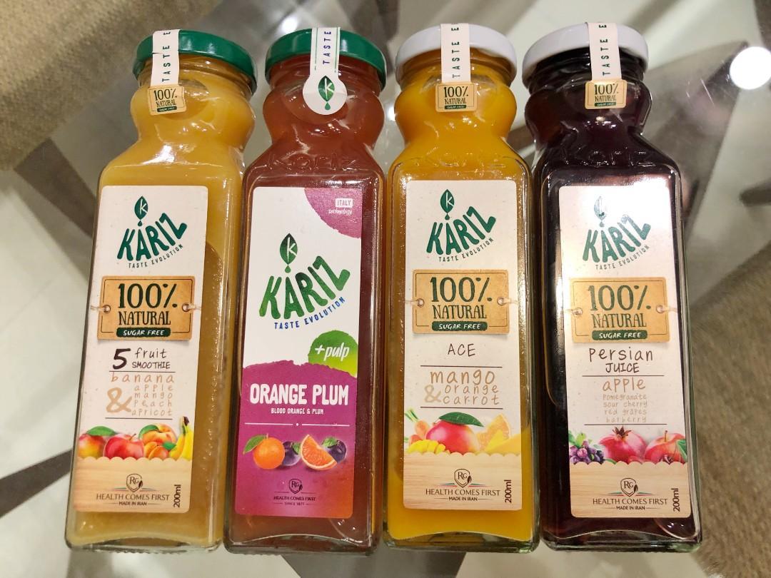 *Limited stock left* Kariz Imported Persian Fruit Juices 220ml  - 50% fruit juice