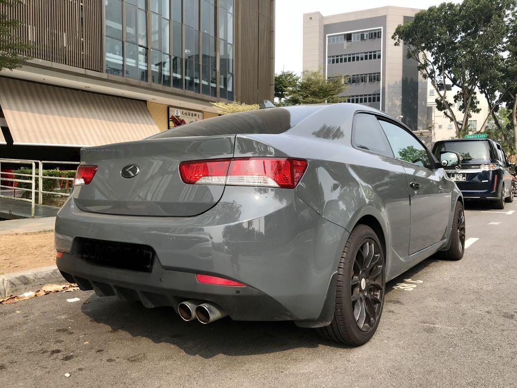 Kia Cerato Koup 1.6 T-GDi (A)