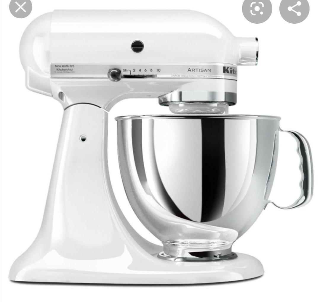 Kitchenaid Mixer Kasm5kdm150wh