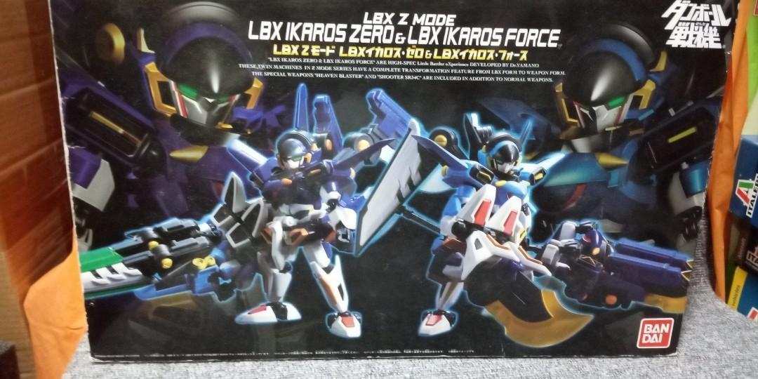 LBX Z mode LBX Ikaros Zero & LBX Ikaros Force 模型