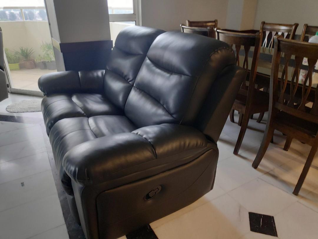 PU Sofa Recliner Set (3+2)