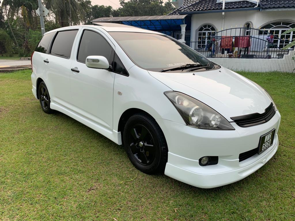 Loan available TOYOTA WISH 1.8 (A) 2005 years