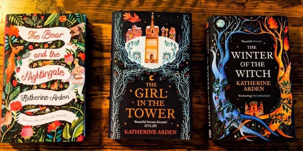 Looking for Winternight Trilogy: The Bear and the Nightingale, The Girl in the Tower, and The Winter of the Witch