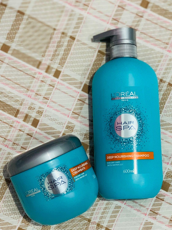 L Oreal Professionel Hair Spa Shampoo Creambath Kesehatan Kecantikan Perawatan Rambut Di Carousell