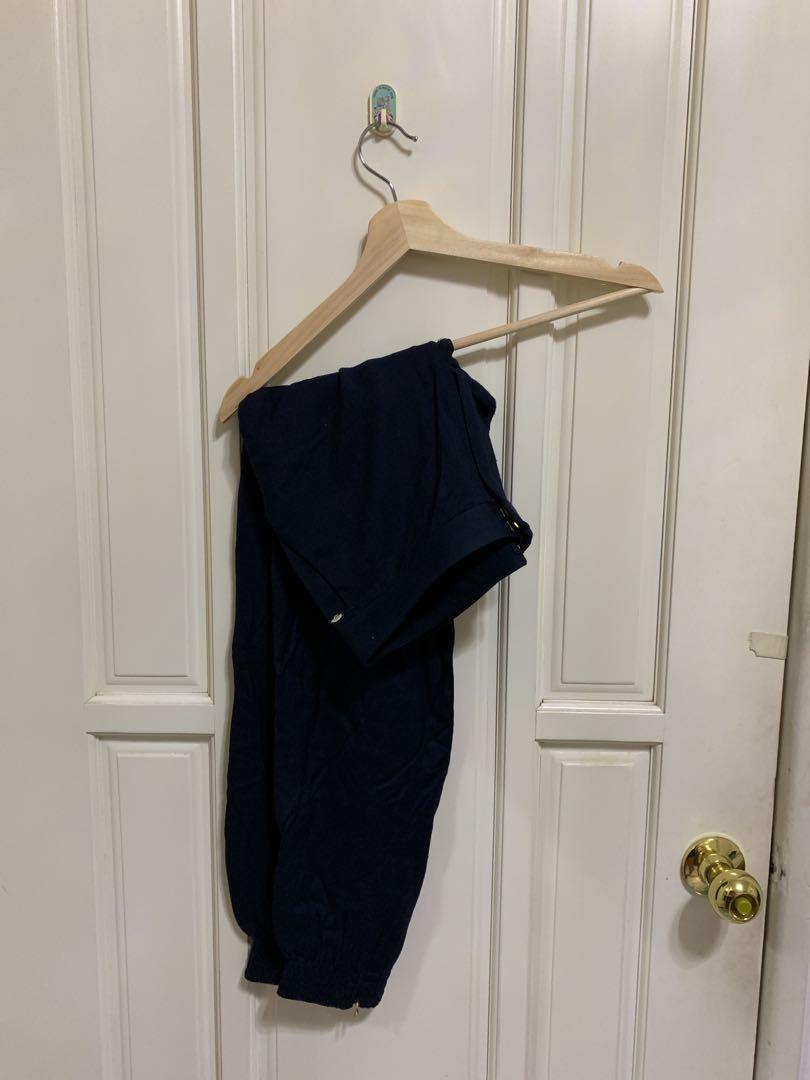 Massimo Duitti深藍色長褲 #五折清衣櫃