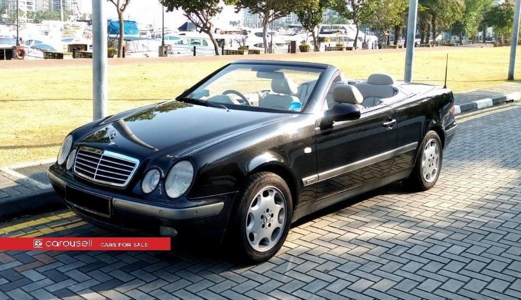 Mercedes Benz CLK-Class CLK230 Cabriolet (COE till 09/2028)