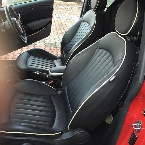 A pair of Mini Cooper S Leather Seats