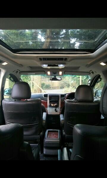 MPV car Toyota Alphard for rent Direct WHATSAPP/call  97349328