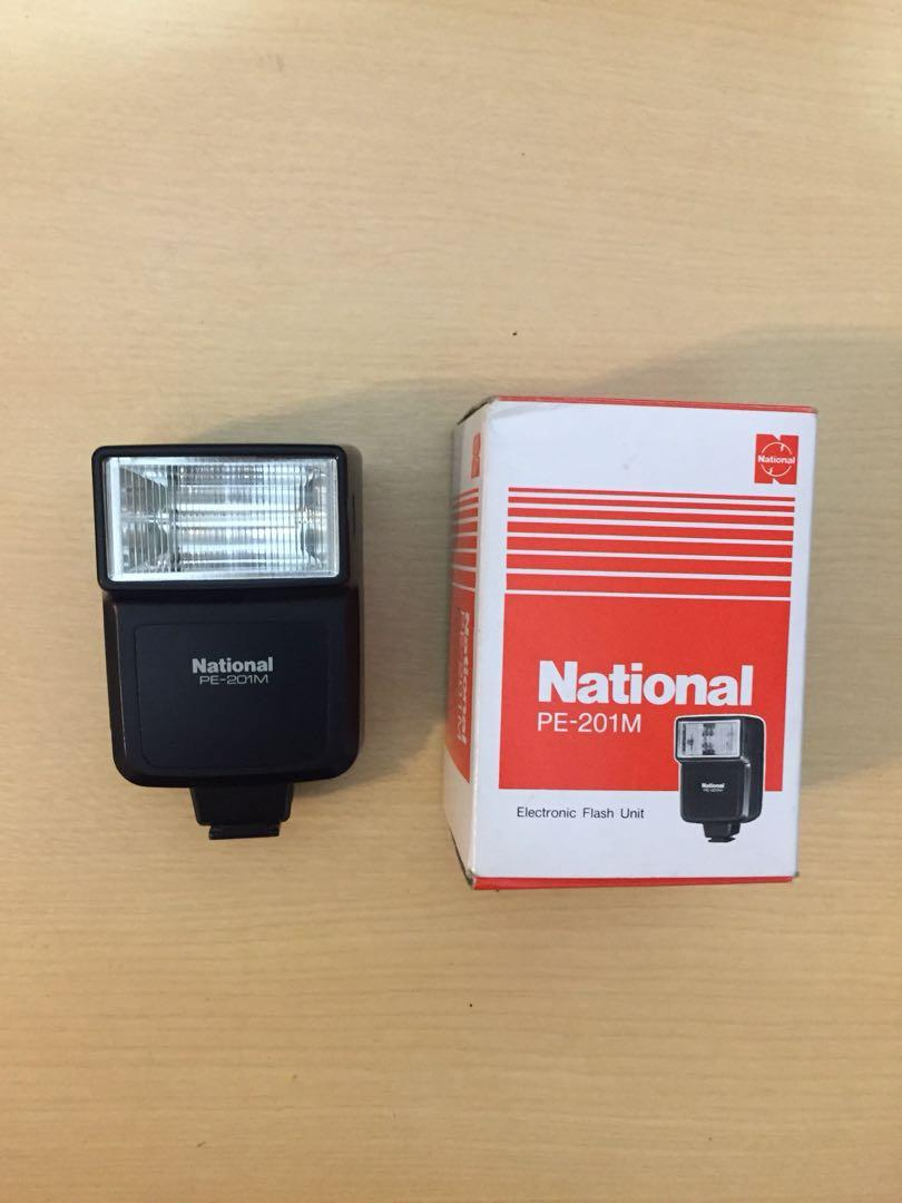 National PE-201M 閃光燈