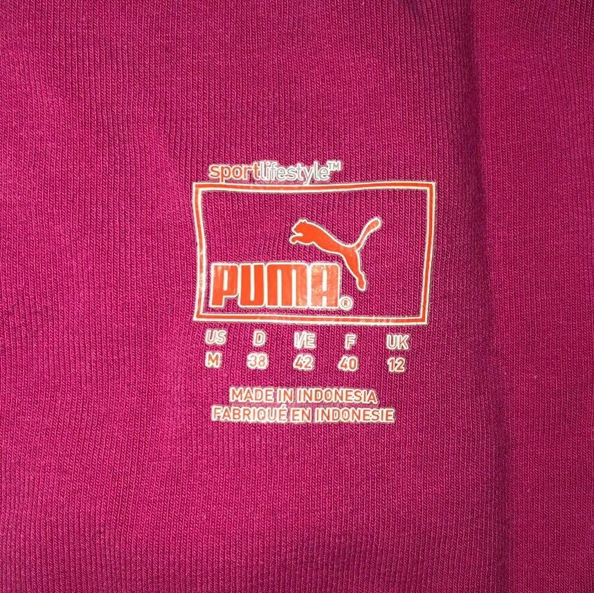 Pink Women's PUMA Sport Athletic Tank Top with Built In Bra Size 10-12