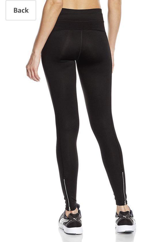 Puma Women's Long Sport Tights/Legging - Black,M/size12