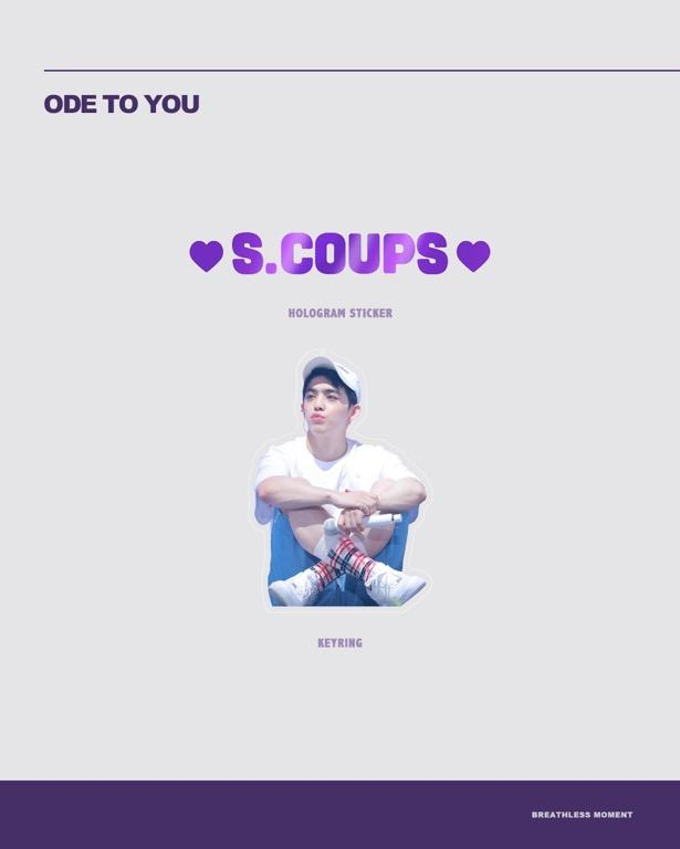 S.COUPS - ODE TO YOU WORLD TOUR S.COUPS CHEERING SLOGAN [23/9]