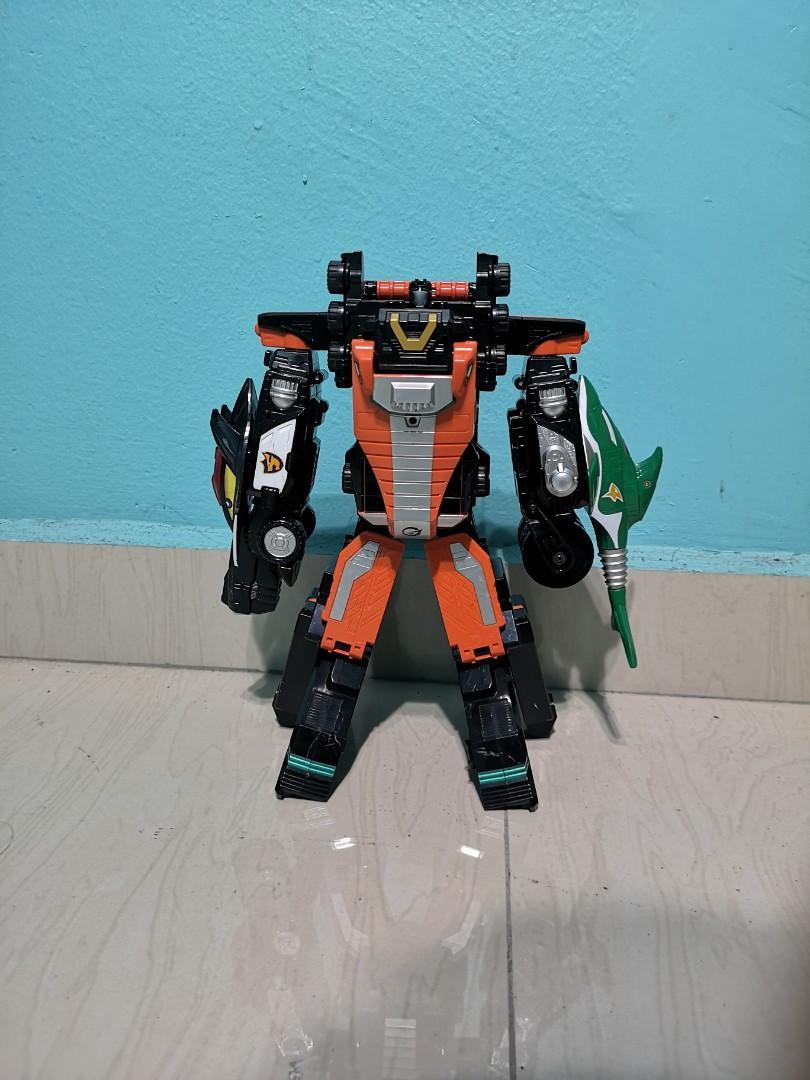 Super Sentai Go onger Megazord Dx