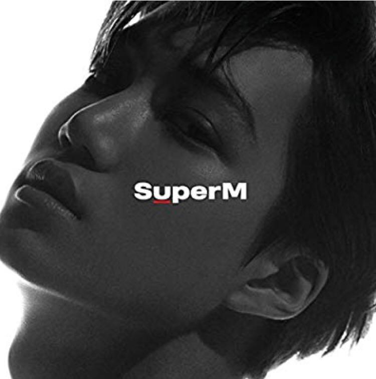 SUPERM ALBUM  - Preorder can choose version Kai Taemin Baekhyun Mark Lucas Taeyong Ten