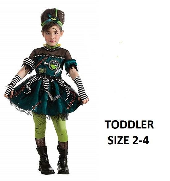 Toddlers Frankie's Princess Halloween Costume (Size 2-4)