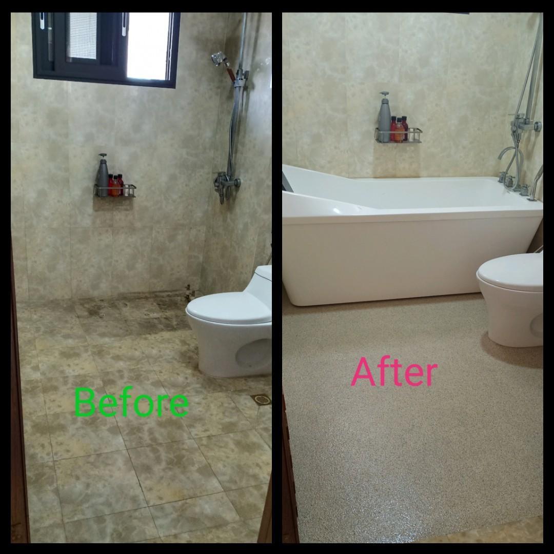 Toilet Overlay (Colour Flakes)