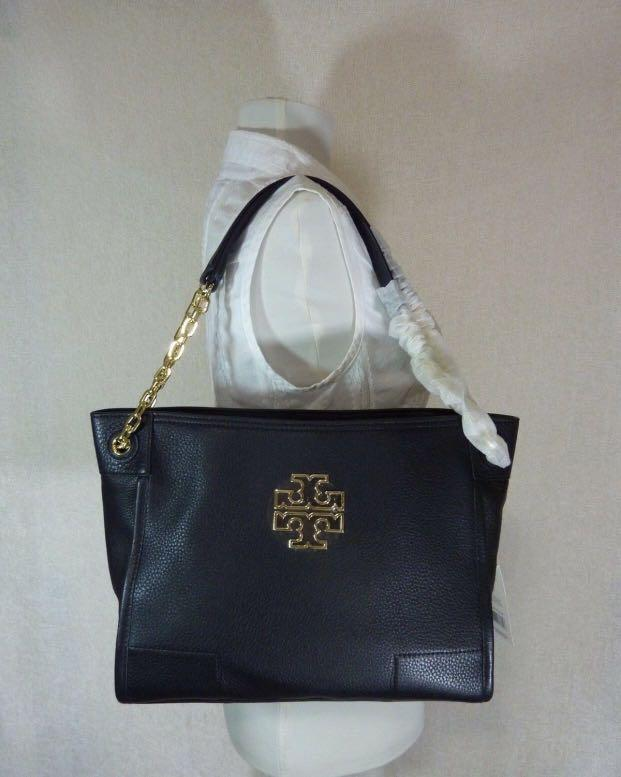 TORY BURCH BRITTEN SLOUCHY TOTE FAST PO SUPER SALE KHUSUS FOLLOWERS @quotaterbaiks 🤩🤩🤩